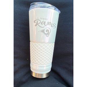 NFL LA Rams water bottle 24oz